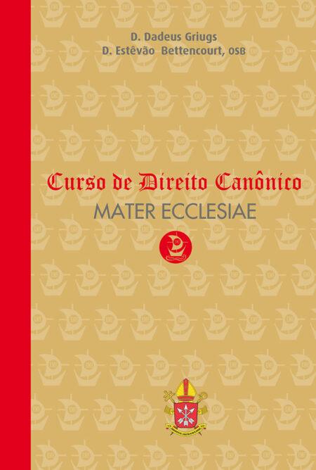 Curso de Direito Canônico Mater Ecclesiae