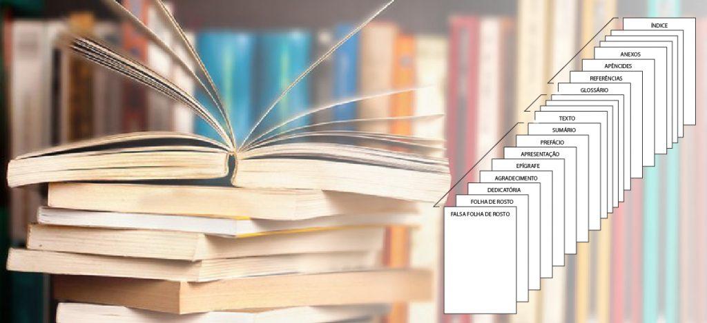 Estrutura do livro – como a publicação deve ser organizada